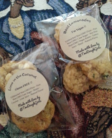 Two Dough Girls from Atlanta, GA bringing us gluten free and vegan baked treats that are not only delicious but baked with great ingredients.