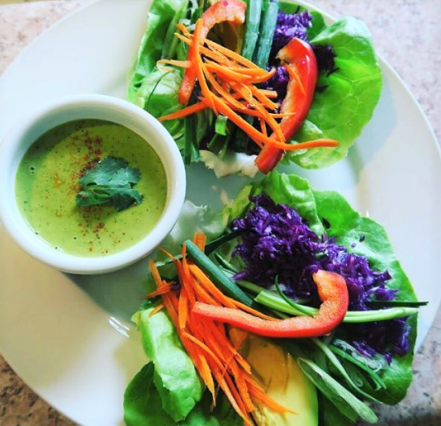 Photo Credit: Raw Vegan Lettuce Wrap bu @naturally_gina